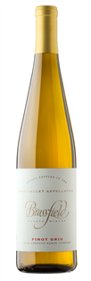 Brassfield Pinot Gris High Serenity Ranch Vineyard 2014...